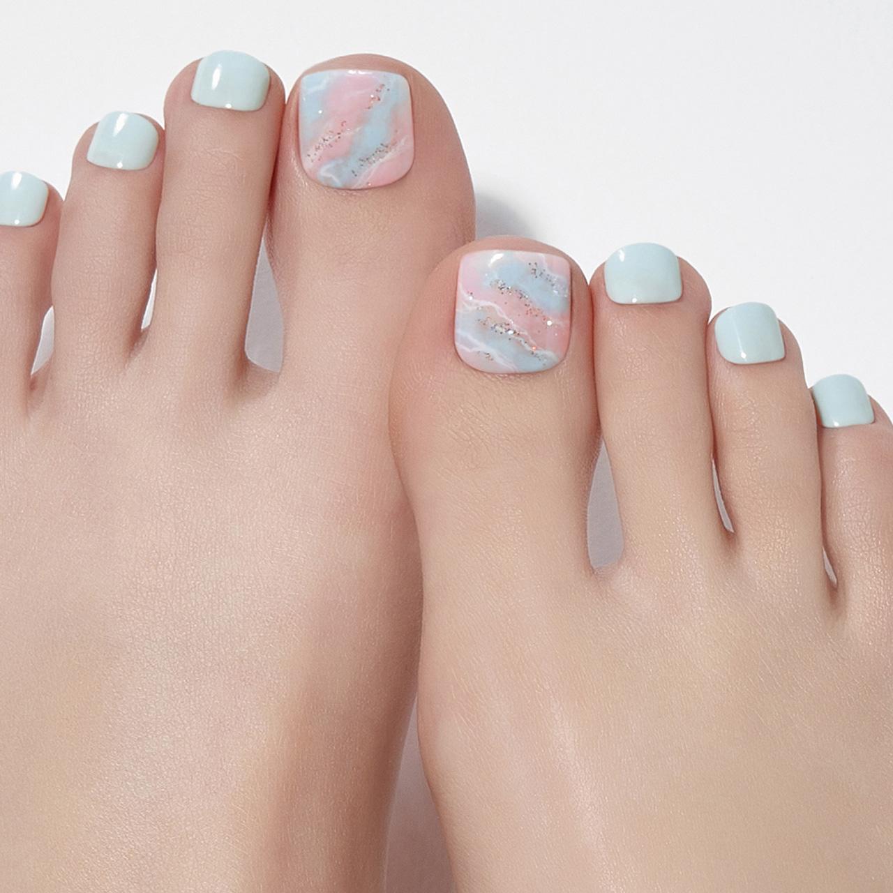 【Cotton Candy Sky】ダッシングディバマジックプレス ペディ