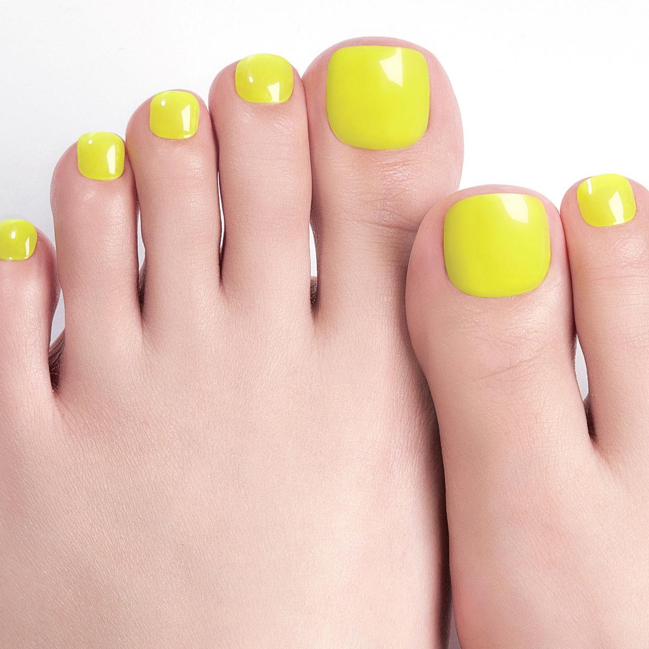 【Juicy Lemon Pedi】ダッシングディバグレーズ ペディ