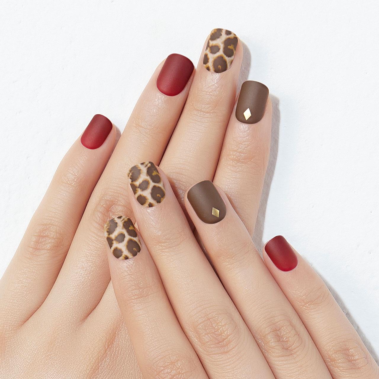 【Burgundy Leopard】ダッシングディバマジックプレス