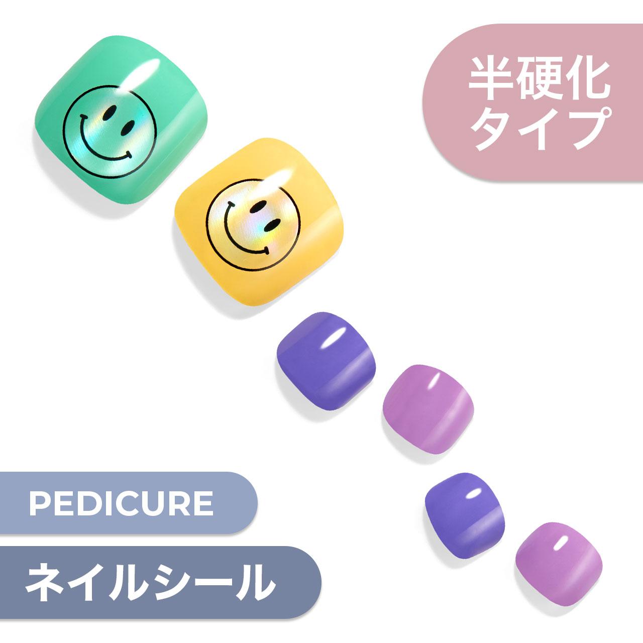 【Colorful Smile】ダッシングディバグレーズ ペディ