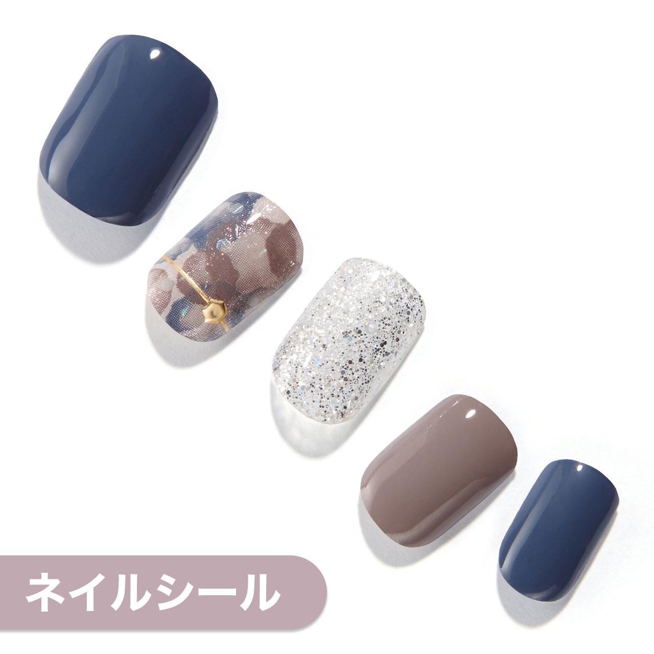 【Pearl Button】ダッシングディバグロスジェルネイルシール