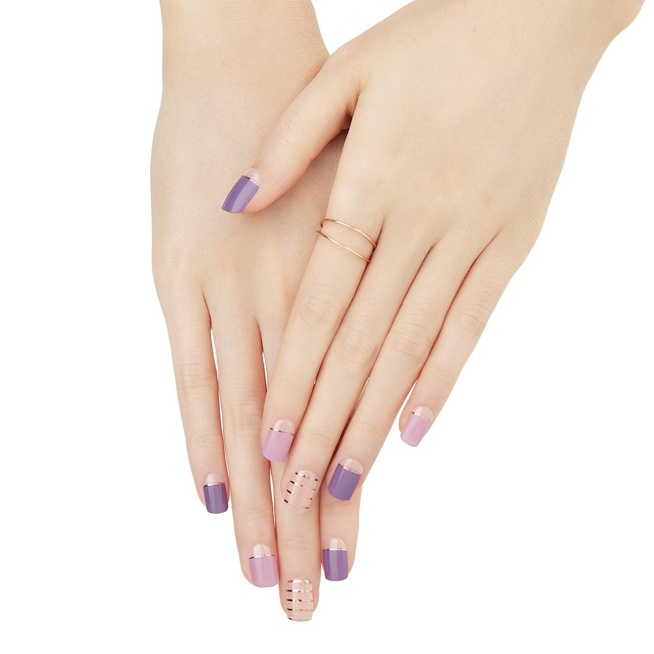ダッシングディバ マジックジェルストリップ  【DGST83】 Purple Stripe