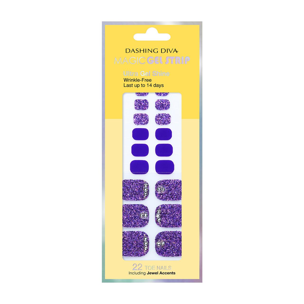 ダッシングディバ マジックジェルストリップ  【DGST77P】 Bling-jewel Sparkle Purple