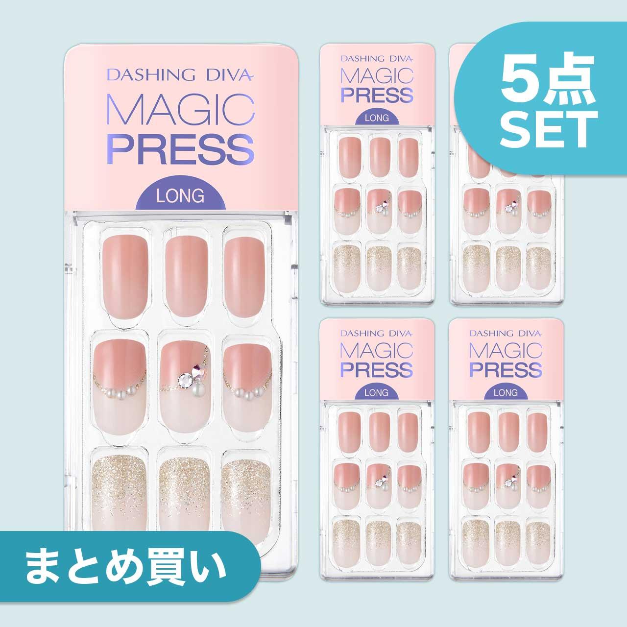 【Soft Coral】ダッシングディバマジックプレス【5個セット】