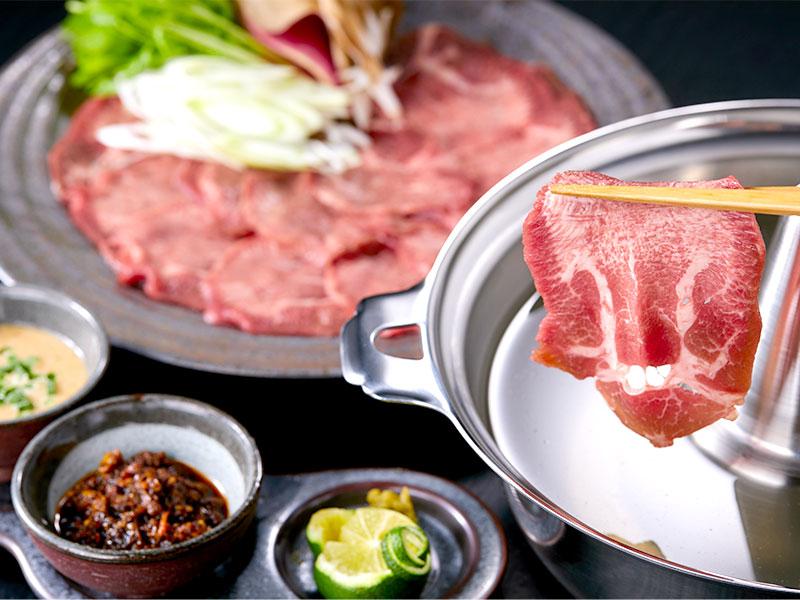 しゃぶしゃぶ食べ比べセット(牛たん&仙台牛)