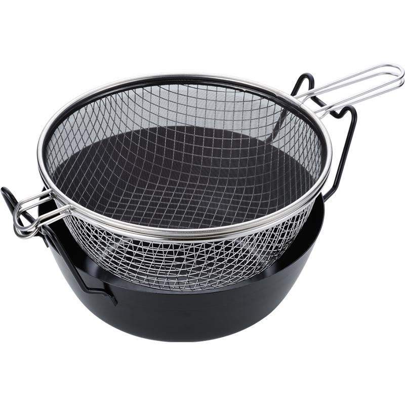 la base(ラバーゼ) 鉄揚げ鍋セット