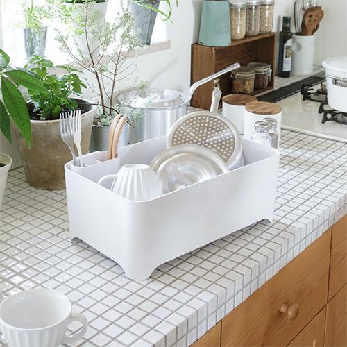 YOHAKU(余白) 洗い桶になる水切りケース