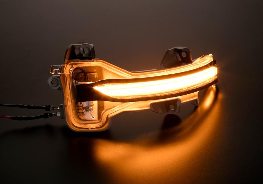 LEDドアミラーウインカー ホンダ汎用タイプ1(オデッセイ/フィットなど)