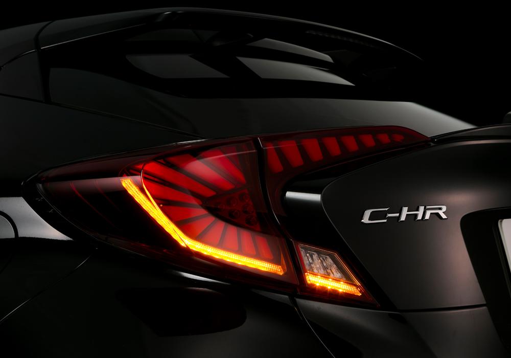 LEDテールランプ C-HR