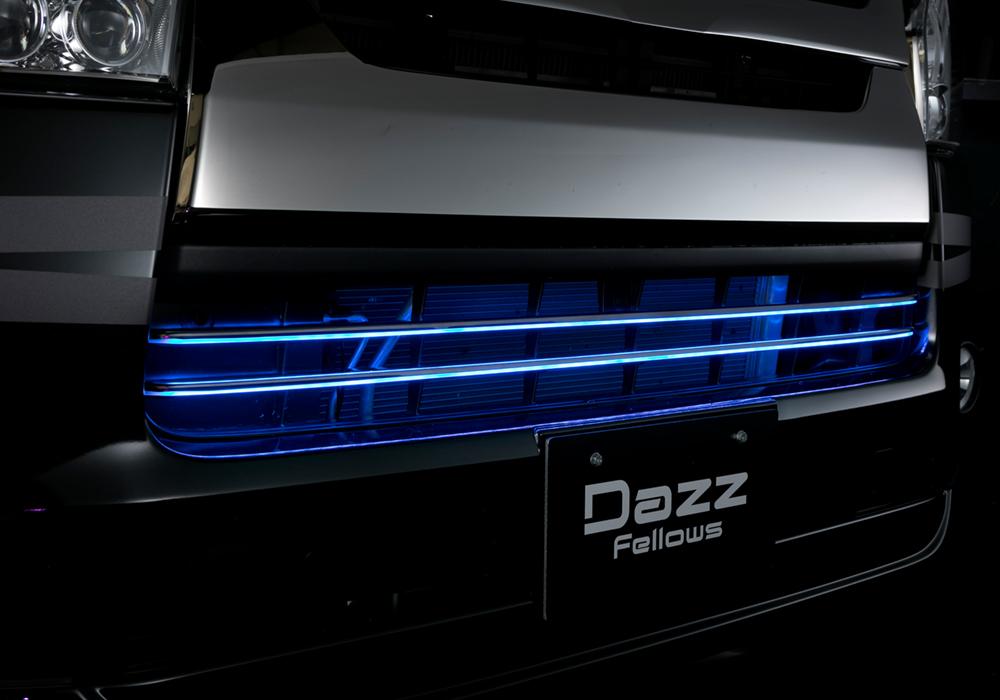 LEDフロントグリルカバー ハイエース(200)