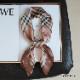 15カラー 正方形 シルク調 スカーフ