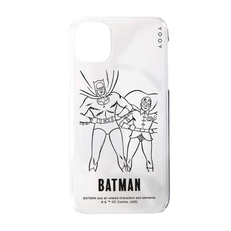 COLORLESS iPhone 11/XRケース/BATMAN/C