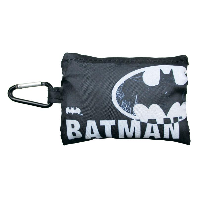 DCカラビナ付きエコバッグ/バットマン