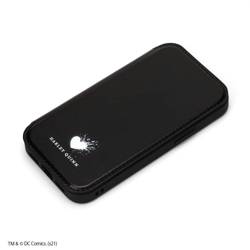 iPhone 12/12 Pro用 ガラスフリップケース /ハーレイ・クイン