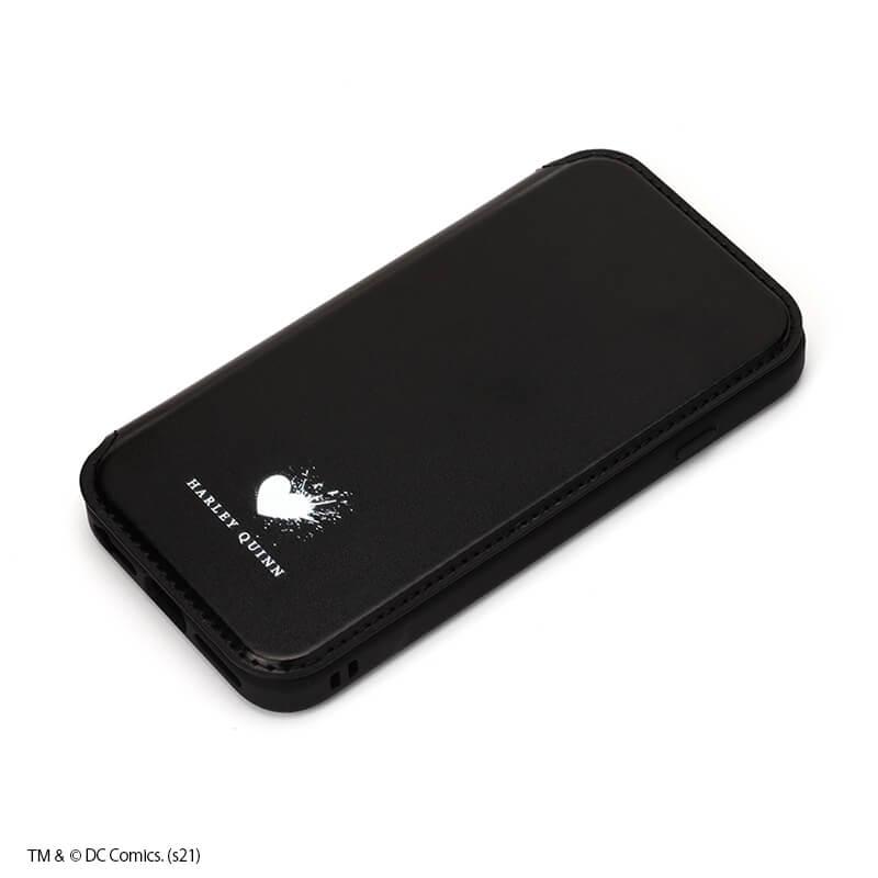 iPhone SE/8/7/6s/6用 ガラスフリップケース /ハーレイ・クイン