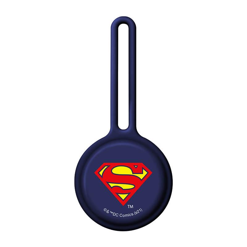 AirTag用 抗菌シリコンストラップ/スーパーマン