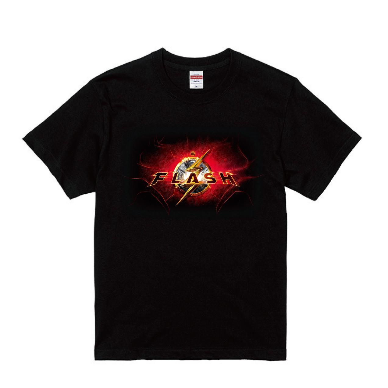 【DCファンドーム限定】T-shirts/2022年全米公開『ザ・フラッシュ(原題)』(BLACK)