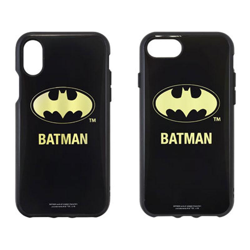 IIII fit iPhoneX・iPhone8/7/6s/6対応ケース/バットマン/ロゴ