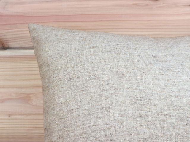 リネンウール/クッションカバー/60×60cm
