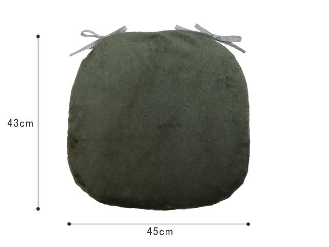 マイクロムートン/バテイシートクッション/43×45cm