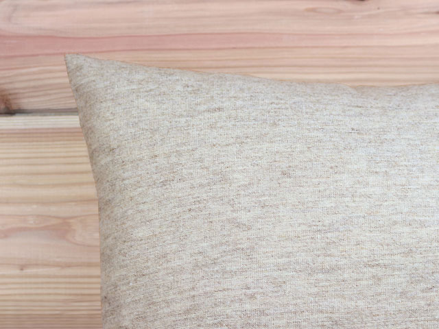 リネンウール/クッションカバー/90×90cm/WINTERナトゥーラ