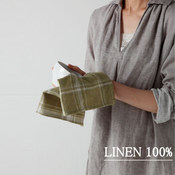 リネン/ミニキッチンクロス