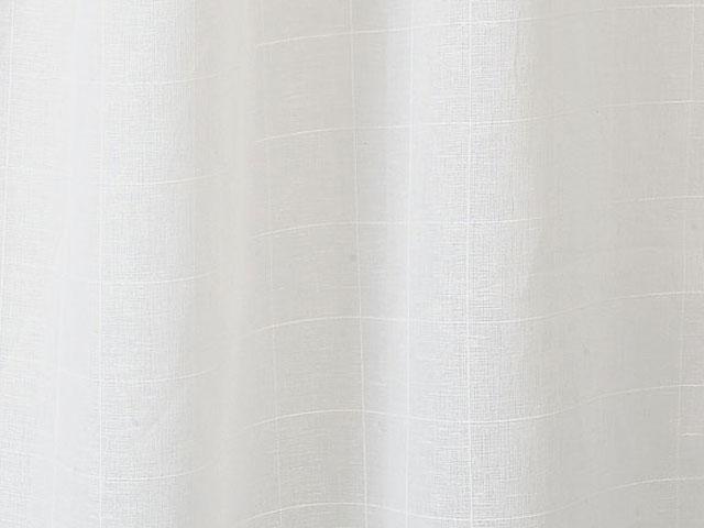 オーダーレースカーテン/綿麻/格子/モディコ