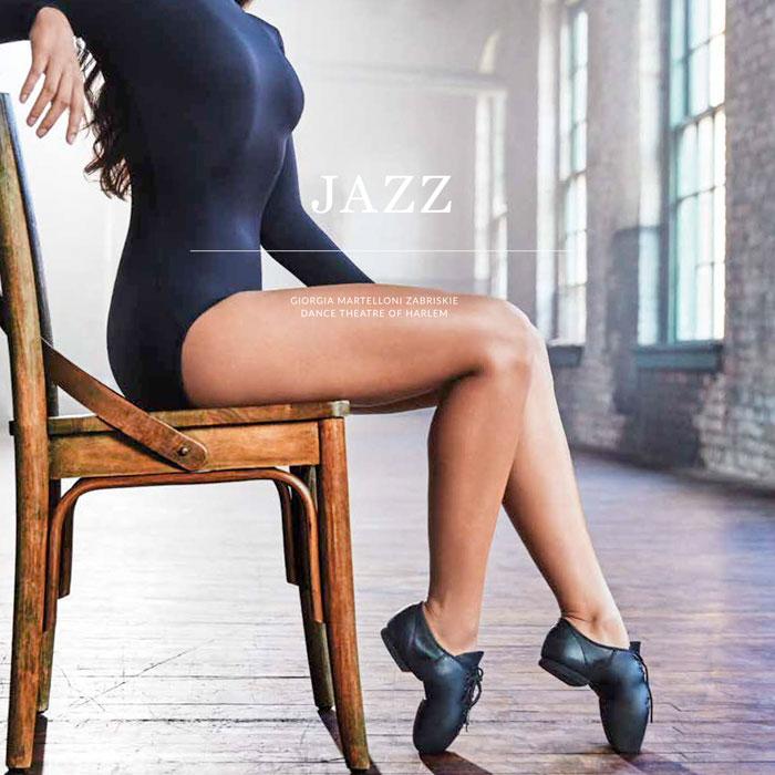 《送料無料》【Capezio/カペジオ】EJ1 E-Series Jazz Oxford BLK ローカットジャズシューズ