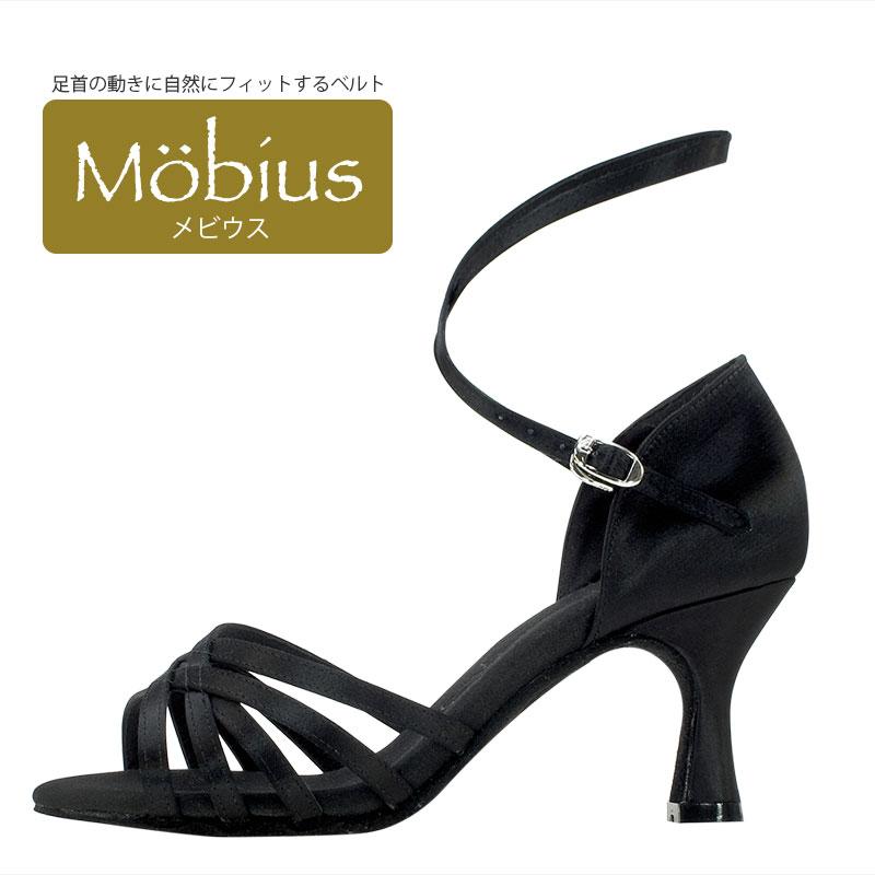 《送料無料》モニシャン【セミオーダー】女性ラテンダンスシューズ《メビウス-Mobius-BL》【モニシャン本店】からお届けいたします!