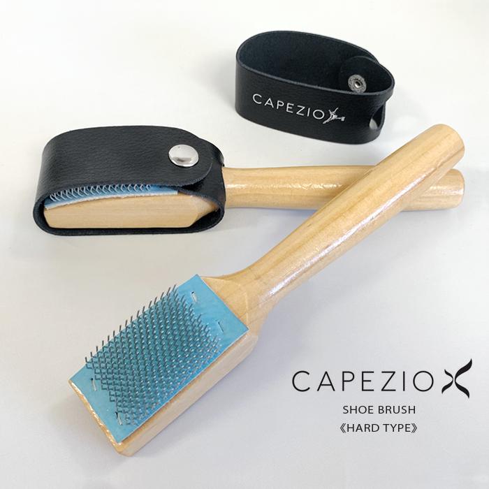 【CAPEZIO/カペジオ】 シューズブラシ 《ハードタイプ》 ヘッドカバー付 BR005