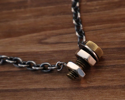 Screw in Bolt Bracelet