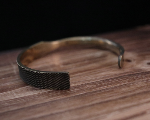 Rasp Bangle -BRASS