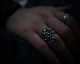 All Nature Skull Ring -COMBI