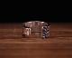 Large Rasp Ring -SILVER
