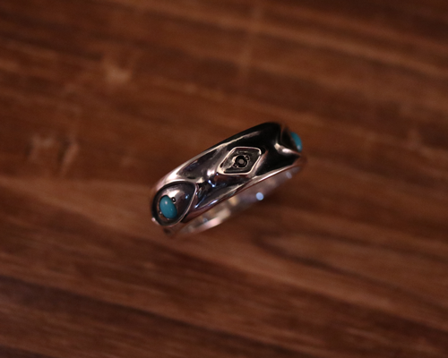 "All Nature Ring ""Eyes"" -SILVER"