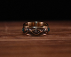 """All Nature Ring """"Eyes"""" -BRASS"""