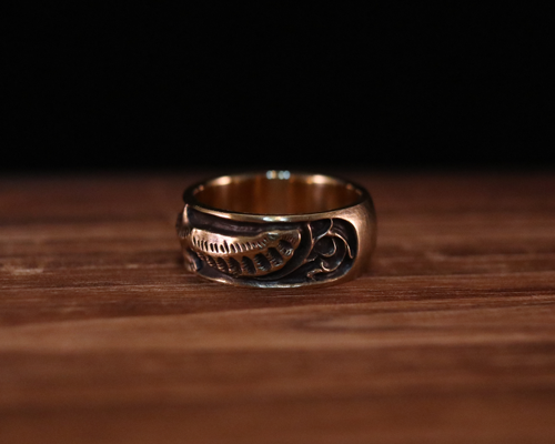 "All Nature Ring ""Eagle"" -BRASS"