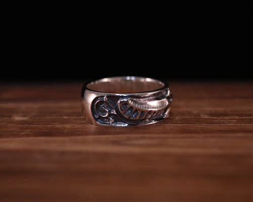 "All Nature Ring ""Eagle"" -SILVER"