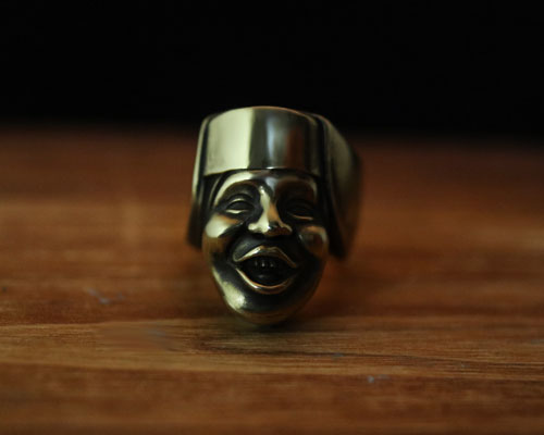 """Sister Singing LOVE""Ring -BRASS"