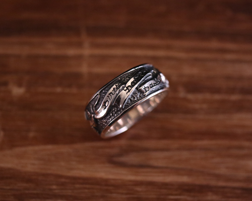 """All Nature Ring """"Swallow""""-SILVER"""