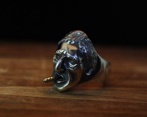 """""""Scar Face""""Ring -SILVER"""