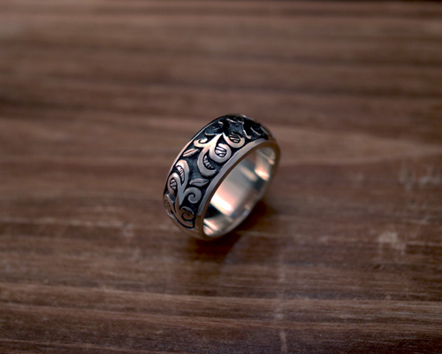 "All Nature Ring ""Ivy"" -SILVER"