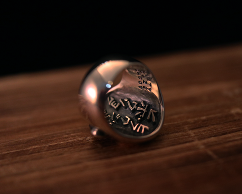 """Peace Maker"" Ring -SILVER"