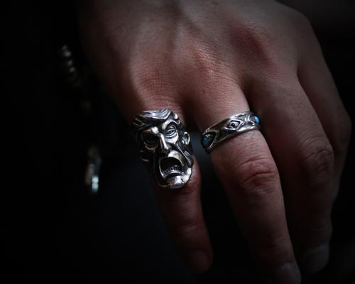 """""""President Joker""""Ring -SILVER"""