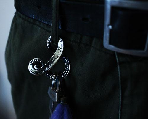 """D""Snake Hook -SILVER"