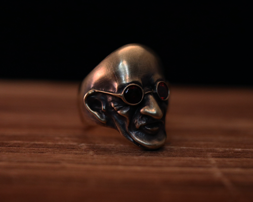 """Peace Maker"" Ring -BRASS"