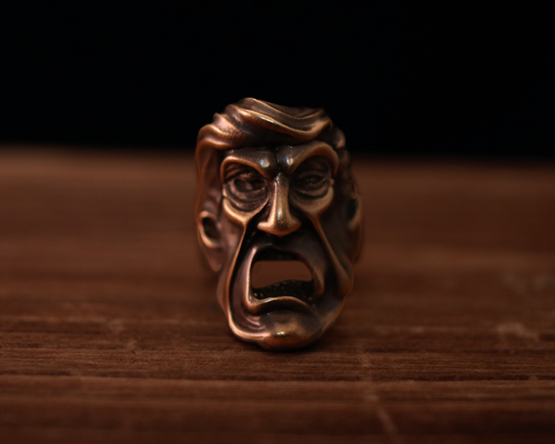 """President Joker""Ring -BRASS"