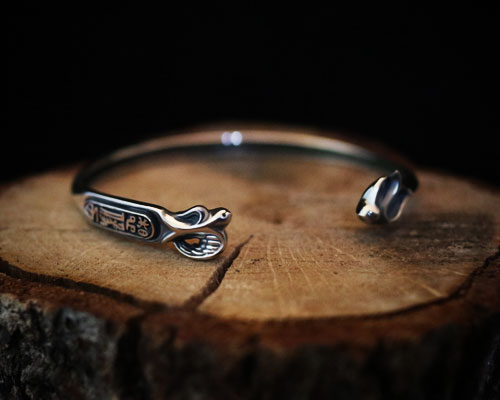"""Imagination"" Bangle-SILVER"