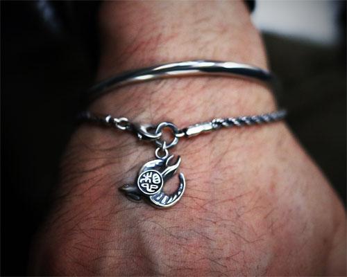 """""""Imagination"""" Bracelet -SILVER"""