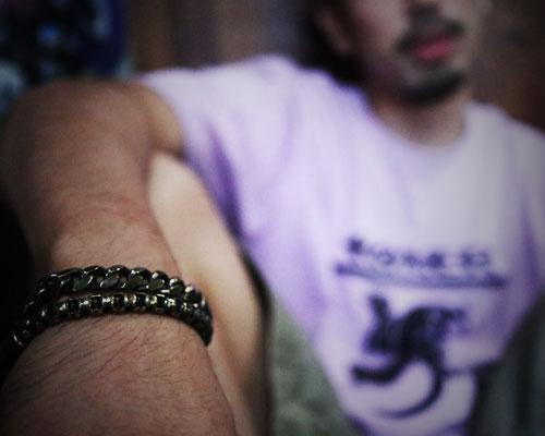 """Caballo""Bracelet -Flat link"